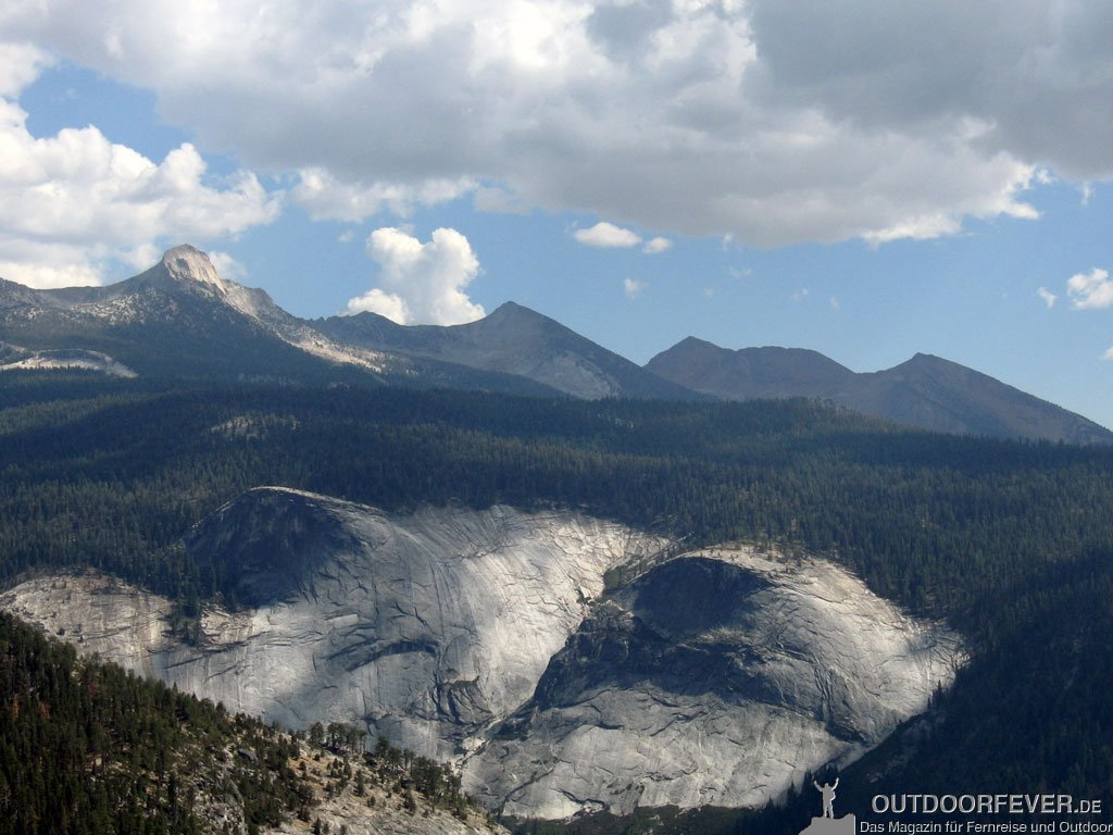 Mt. Clark, Gray Peak und Red Peak - Yosemite Valley
