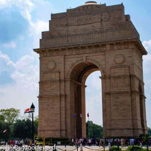 Das India Gate in Delhi
