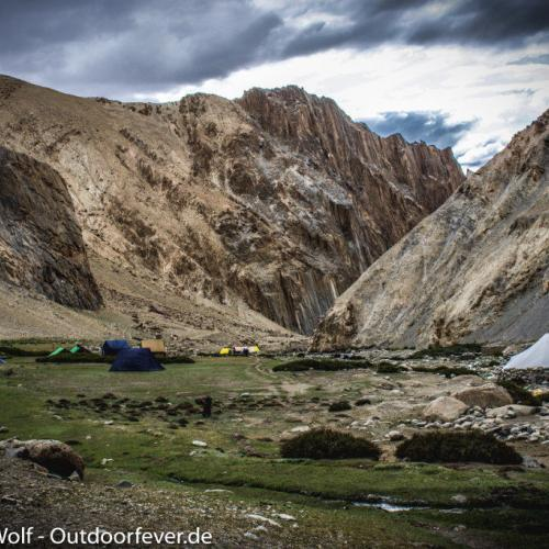 Unser Camp in Thuchungtse